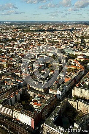 Berlin Cityscape Aerial