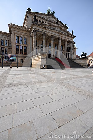 Berlin concert hall Editorial Stock Photo