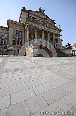 Berlin concert hall Editorial Stock Photo