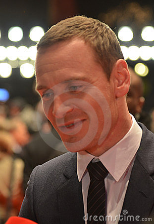 BERLIN - FEB 15: Michael Fassbender Editorial Photography