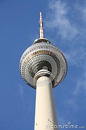 Berlin-Fernsehen-Kontrollturm - Fernsehturm