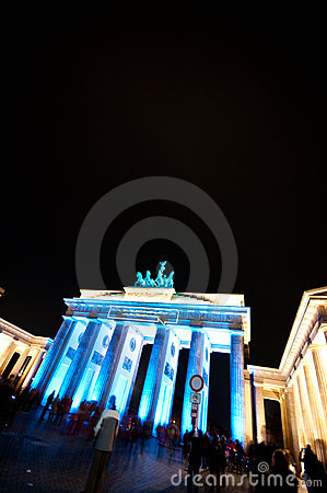Berlin, Festival of Lights Editorial Photography