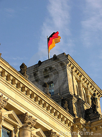 Free BERLIN FLAG Royalty Free Stock Photo - 155395