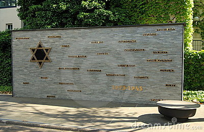 Berlin, Germany: Concentration Camp Memorial Editorial Stock Image