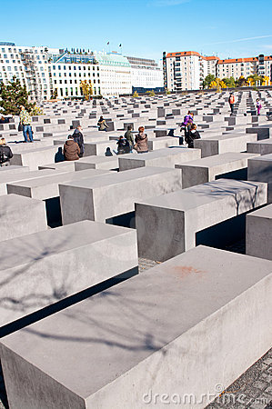 Berlin, Holocaust monument Editorial Image