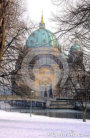 Free Berlin In Winter Royalty Free Stock Photo - 1470195