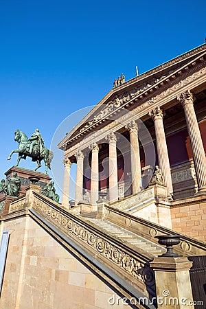 Berlin landmark Old National Gallery