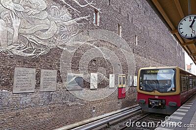 Berlin metro Editorial Stock Image