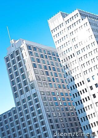 Berlin, modern office buildings