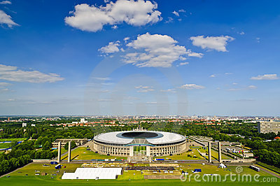 Berlin olympic stadium Editorial Image