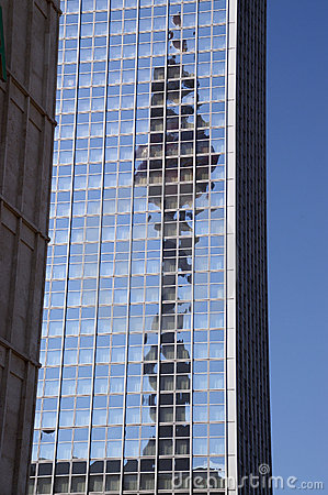 Free Berlin Radio Tower Reflection Stock Images - 896614
