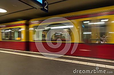 Berlin S-Bahn Train