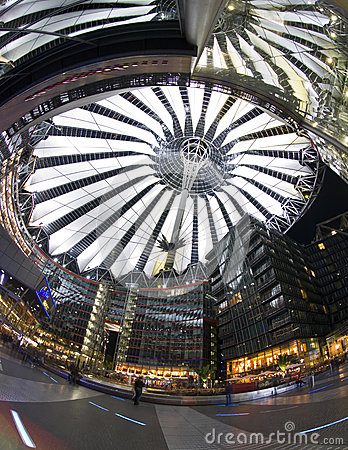 Berlin Sony Center Editorial Photo