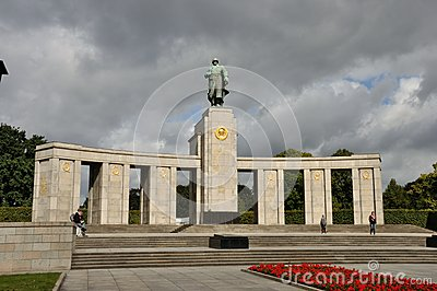 Berlin soviet memorial Editorial Photography