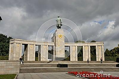 Berlin soviet memorial Editorial Photography
