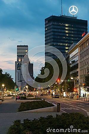 Berlin Tauentzien Editorial Stock Photo