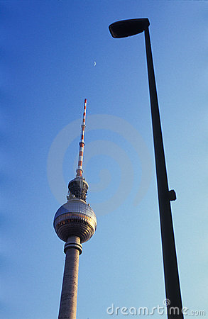 Berlin television tower Editorial Stock Image