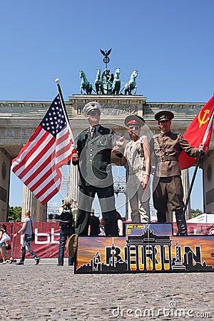 Berlin tourism Editorial Stock Image