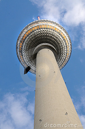 Free Berlin  TV Tower Stock Images - 21365054
