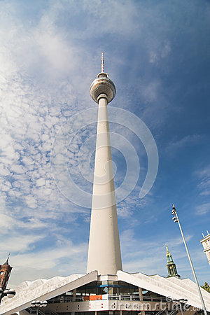 Berlin TV Tower Editorial Photography