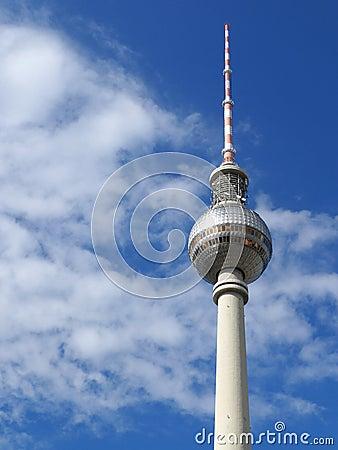 Berlin Tv Tower Berliner Fernsehturm Germany