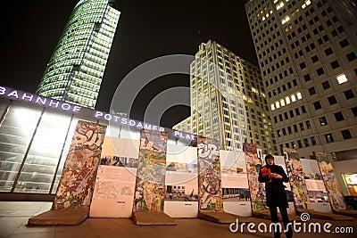 Berlin wall Editorial Photography