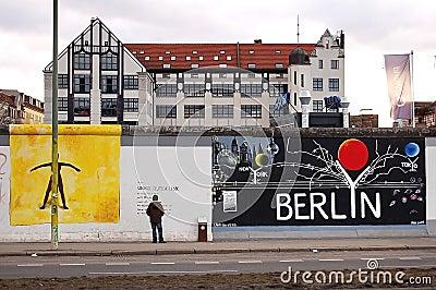 Berlin Wall Editorial Stock Image