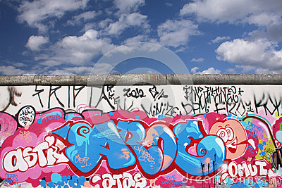Berlin wall Editorial Photography