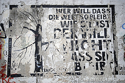 Berlin Wall Editorial Stock Photo