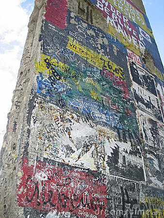 Free Berlin Wall Fragment Royalty Free Stock Images - 60209