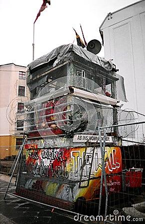Berlin wall. Germany Editorial Stock Photo