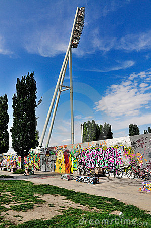 Berlin Wall, Germany Editorial Image
