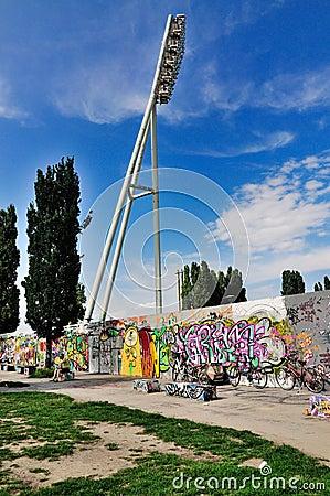 Berlin Wall, Germany Editorial Image