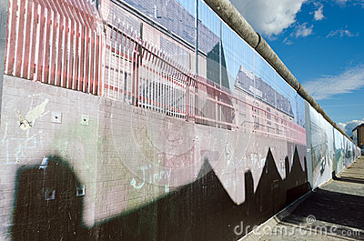 Berlin Wall Editorial Stock Image