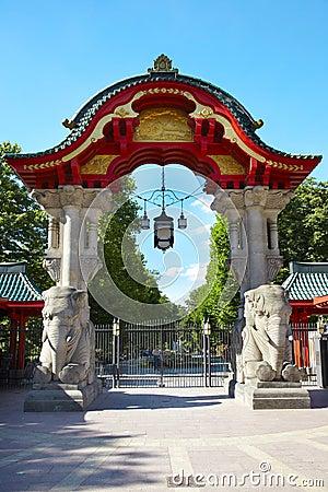 Berlin zoo gate