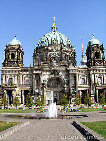 Free Berliner Dom Royalty Free Stock Photo - 1329515