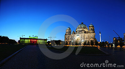 Berliner Dom (Berlin Cathedral) Editorial Stock Image