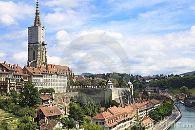 Bern, the capital of Switzerland.
