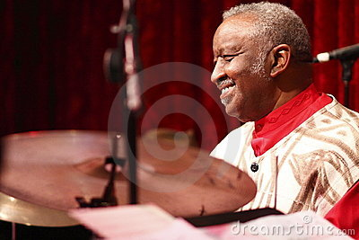 Bernard Purdie live in concert Editorial Photo