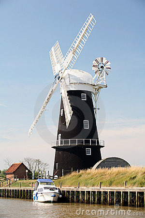 Berney Arms Mill, Norfolk,