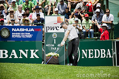 Bernhard Langer - NCGs2011 Editorial Stock Photo