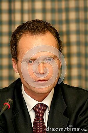 Bernhard Mayer Editorial Stock Photo