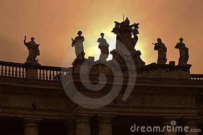 Bernini s Vatican Columns - Rome