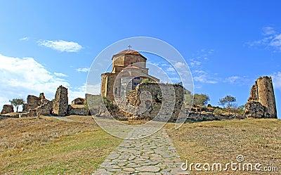 Beroemde kerk Jvari