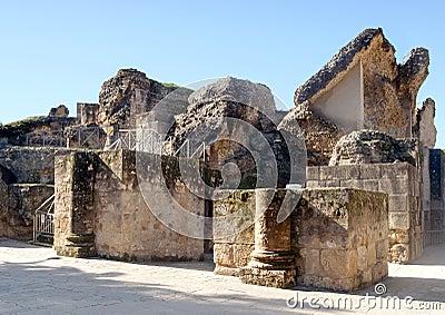 Überreste der römischen Zivilisation