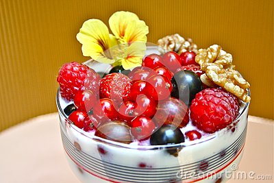 Healthy Berries for Breakfast