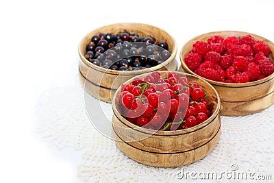 Berries with cereals