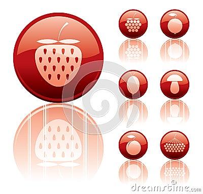 Berries icons