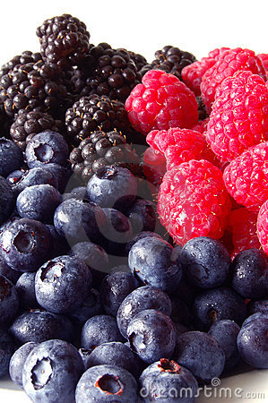 Free Berries, Vertical Stock Photo - 9917710