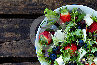 Berry salad